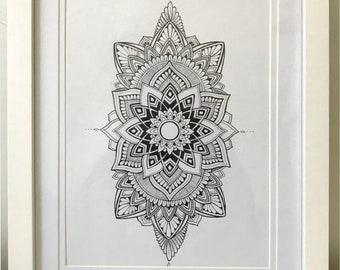Mandala Art- Handmade (not a print)