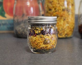 Gentle and Soothing Herbal Bath Blend