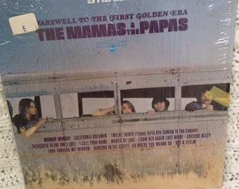 """The Mama's and the Papa's - """"Farewell to the First Golden Era"""" vinyl record"""