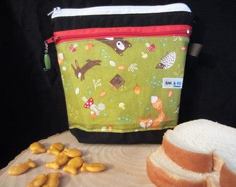 Sandwich and snack bag