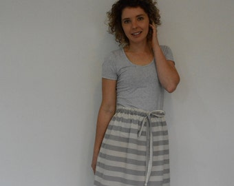 Drawstring skirt PDF sewing pattern