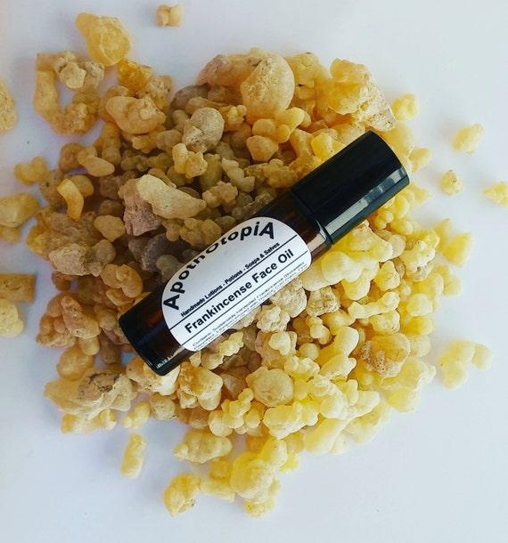 Organic Frankincense Face Oil Serum, Eco Friendly Skin Care & Sustainable Facial Care, Repair, Rejuvenating, Anti Inflammatory