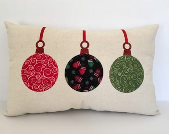 Christmas ornament pillow