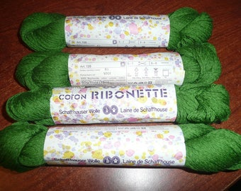 Schaffhauser Wolle Coton Ribonette Yarn Skeins You Choose The Color
