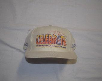 Vintage 1997 Pro Football Hall of Fame Logo Athletic snapback