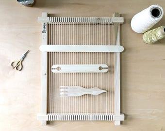 Weaving Loom Kit | Lap Loom | Hand Weaving | Wall Hanging | Frame Loom |