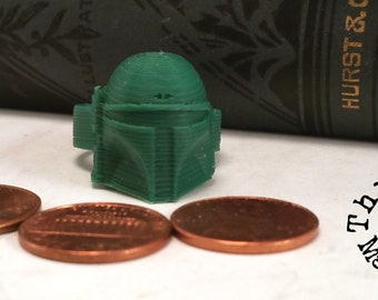Boba Fett 3D printed ring