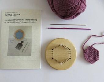 """TinyTURTLE™ Hexagon Pin Loom Kit - 2"""""""