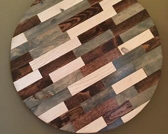Rustic Circle Wood Wall Art