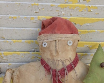 Spring Sale Primitive Christmas Naked Santa-