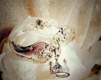 Silver Plated Spoon Bracelet