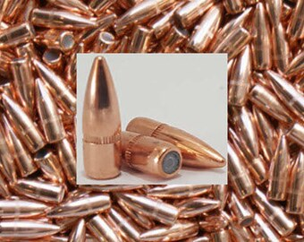 223 Bullets 55 FMJ Hornady Projectile Tips. Free Shipping, Pks 100/500/1,000