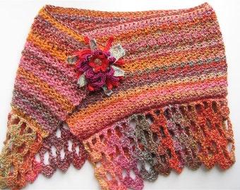 Cherokee Crocheted Shawlette Pattern Pdf