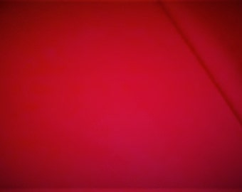 Italian wool red melton fabric  ,material ideal for coats and suits