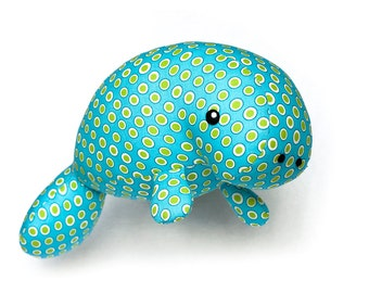 Manatee sea creature sewing pattern PDF
