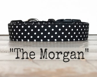DOG COLLAR, The Morgan, Dog Collar for Girls, Dog Collars for Boys, Modern Dog Collars, Cool Dog Collars, Gender Neutral Dog Collar
