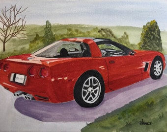 Custom Car Portraits, starting at