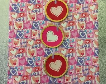 Valentine's Day Canvas Decor