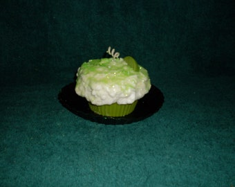 Grubby Cupcake Candle Key Lime Pie and Vanilla