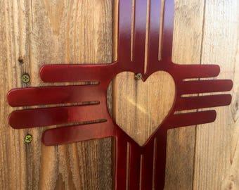 Heart Zia wall hanging