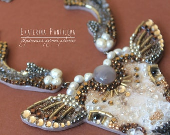 Pearl Hart-necklaces handmade from stones, pearls and beads