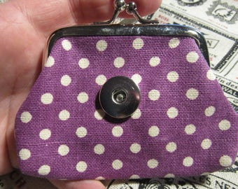wallet for snap 18 / 20mm