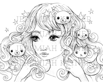 With Us - Coloring Page