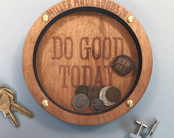 Do Good Today - Wooden Valet Tray