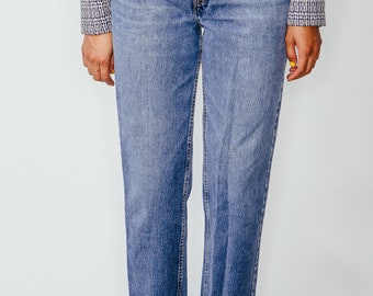 Vintage Levi Strauss 512 Faded Blue Jeans 26