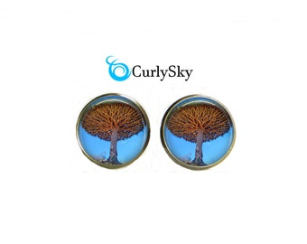 Sky Blue Studs Bottom of a Tree Studs Sky Blue Studs Brown Branch Studs Tree Trunk Studs Brown Branch Studs Tree Branch Studs Tree Studs
