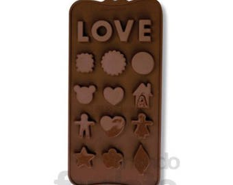 Mould for Chocolates by Dolcemania Printing press.