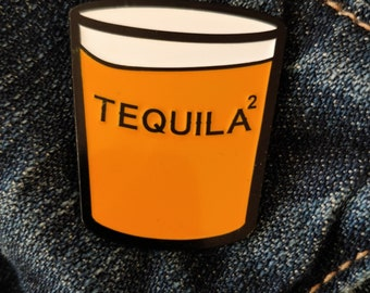 Tequila Squared - Lito - Sense8 - Hat Pin - Lapel Pin