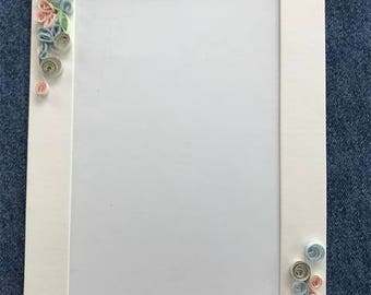 Note Card, Quilled Decoration, Photo Insert