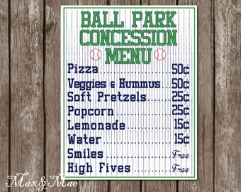 bball concession etsy