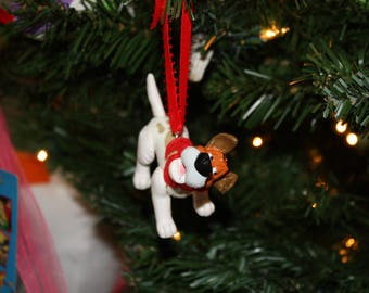 Upcycled Toy Ornaments-Dodger