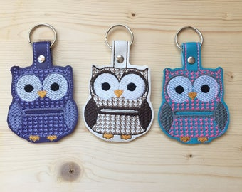 Owl Quarter Holder | Aldi Quarter Keeper | Aldi Keychain | Aldi Quarter Holder | Cart Coin Key Fob | Owl Key Chain | Key Ring | Coin Holder
