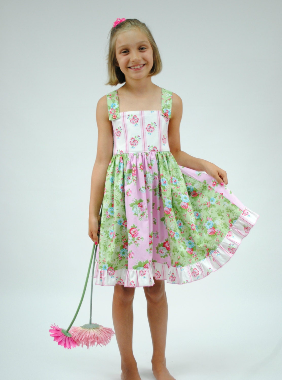 Rosey Posey Girls Dress Girls Clothing Girls Dresses