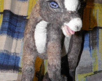 Baby goat, needle felted, custom made for you