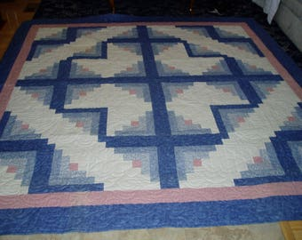 Beautiful/Stunning Handmade Star Burst Quilt/SALE