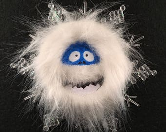 Ornaments, Christmas Ornament, Snowflake, Holiday Ornament, Bumble, Abominable Snowman