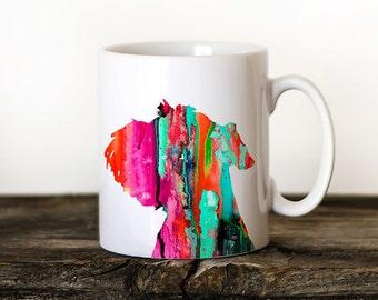 Miniature Schnauzer 2 Mug Watercolor Ceramic Mug Unique Gift Coffee Mug Animal Mug Tea Cup Art Illustration Cool Kitchen Art Printed dog