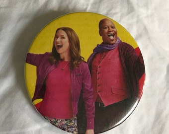 Unbreakable Kimmy Schmidt and Titus Andromedan Button