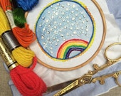Colorburst Embroidery Single: RAINBOW