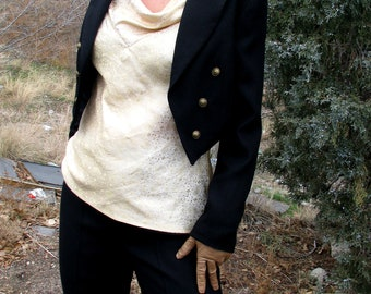 Women's Tuxedo---Custom Cut and Made-To-Measure