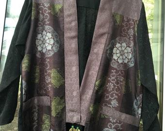 Antique Trim Kimono Jacket