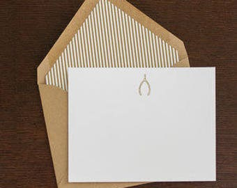 lined wishbone stationary