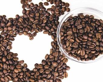 Roasted to order seasonal medium roast coffee beans