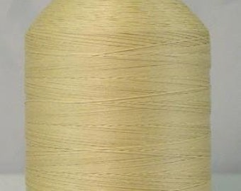 Quilting Thread, Ecru, YLI, Glazed Quilting Cotton, 40 wt Quilting Thread, Machine Quilting Thread, Hand Quilting Thread, Egyptian Cotton