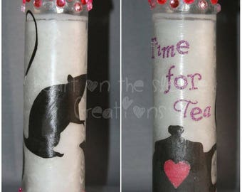 Time for Tea Prayer Candle