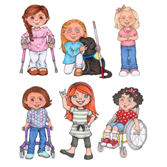 special needs digital clip art rh etsy com special needs assistant clipart special needs clipart